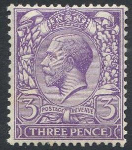 Spec N22/1 3d Reddish Violet Unmounted Mint