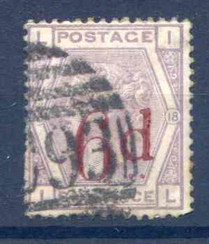 SG162 6d On 6d Lilac Fine Used