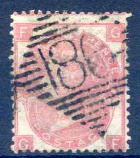SG92 3d Rose Fine Used Dublin 186 Cancel
