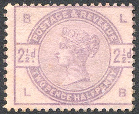 SG190 Var 2 1/2d Purple On Lilac (Mounted Mint) Colour Trial
