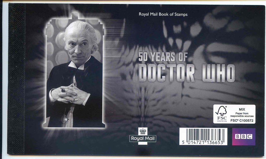 DY6 Doctor Who Prestige Booklet