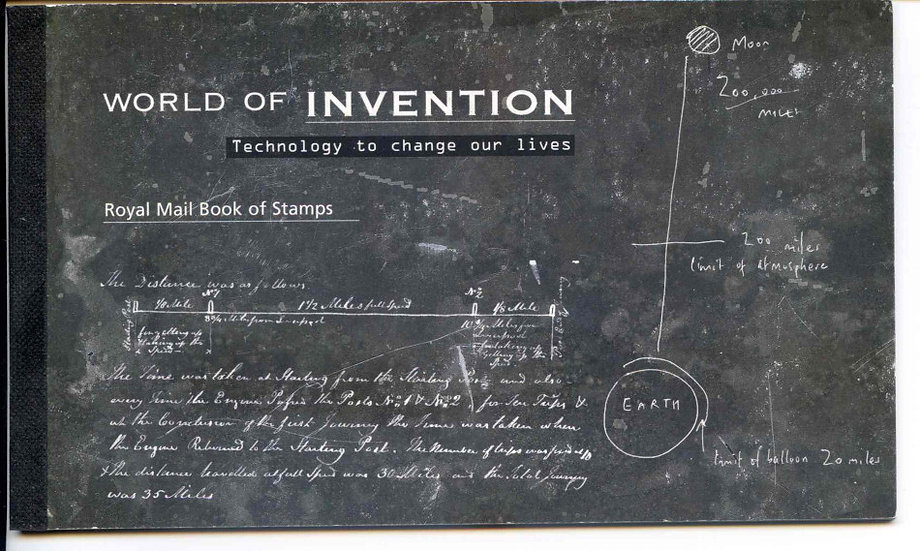 DX38 World of Invention Prestige Booklet