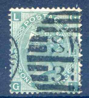 SG117 Plate 6 Fine Used