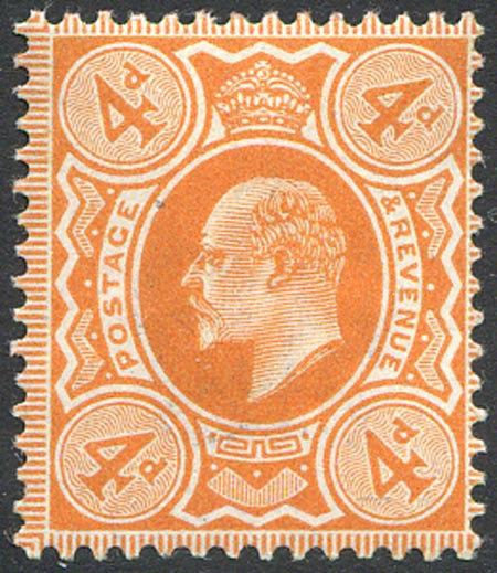 SG241 4d Orange Red Unmounted Mint
