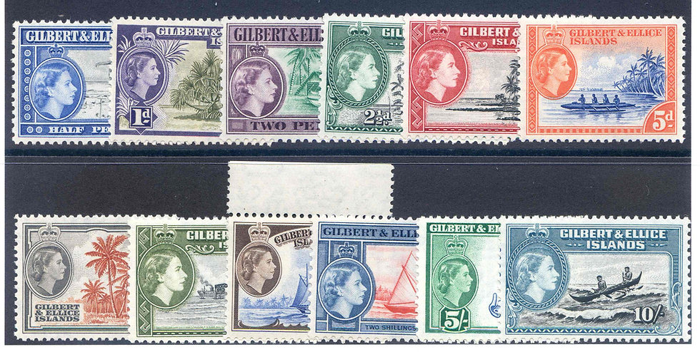 Gilbert and Ellice SG64/75 Unmounted Mint