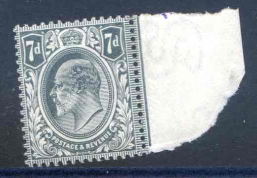 Spec M37/2 7d Deep Grey Black Unmounted Mint