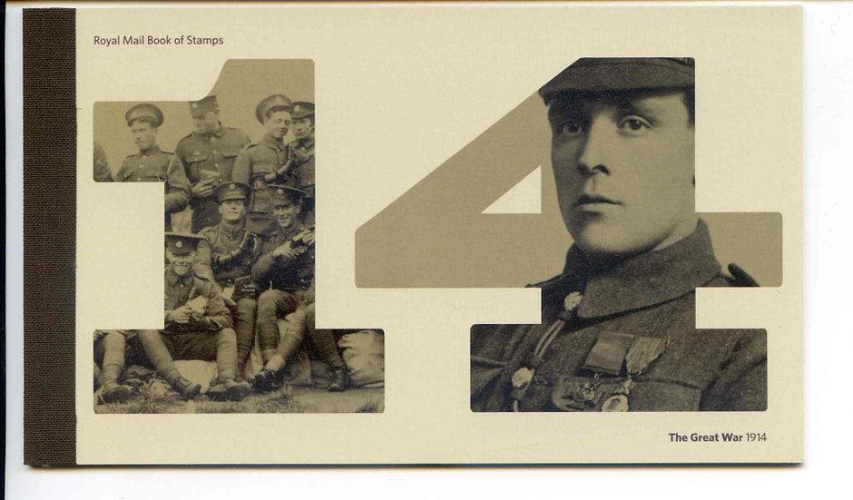 DY11 1914 Great War Prestige Booklet