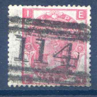 SG103  3d Rose Plate 5 LH Wing Margin Used