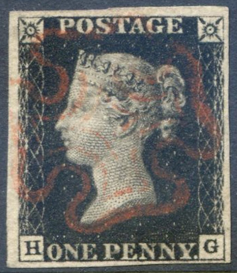 Penny Black (HG) Plate 6