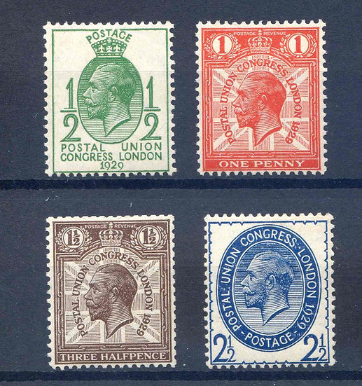 SG434/7 PUC Low Values Mounted Mint