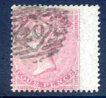 SG63 4d Carmine Fine Used Right Hand Wing Margin