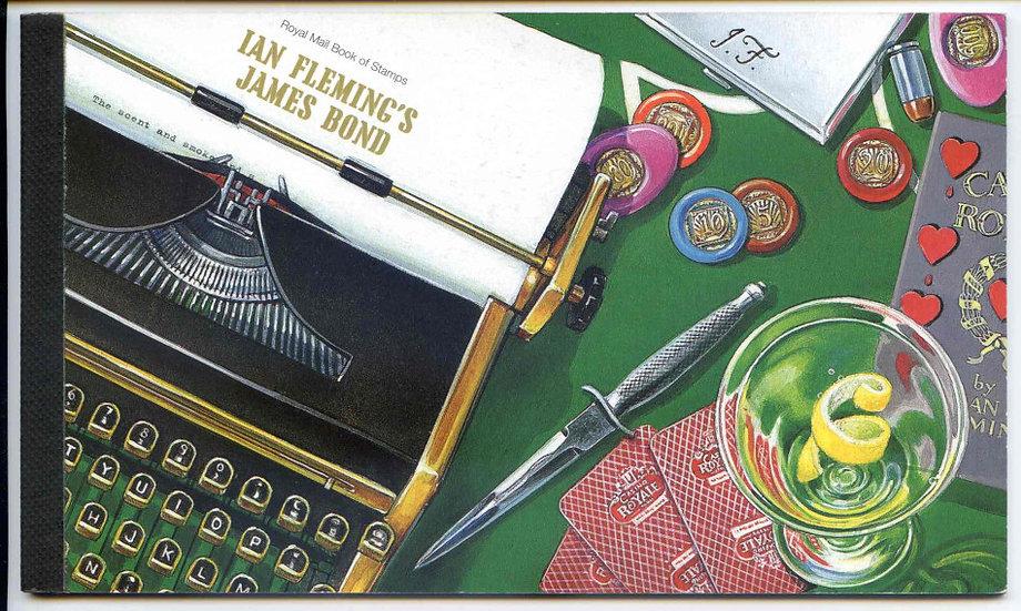 DX41 James Bond Prestige Booklet
