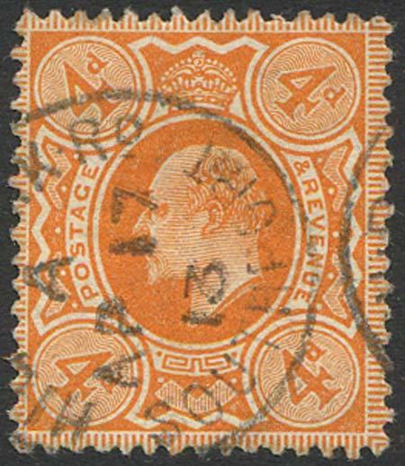 SG286 4d Bright Orange Fine Used