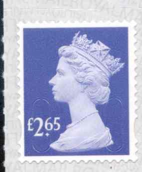 U2963 £2.65 Bluish Violet Unmounted Mint