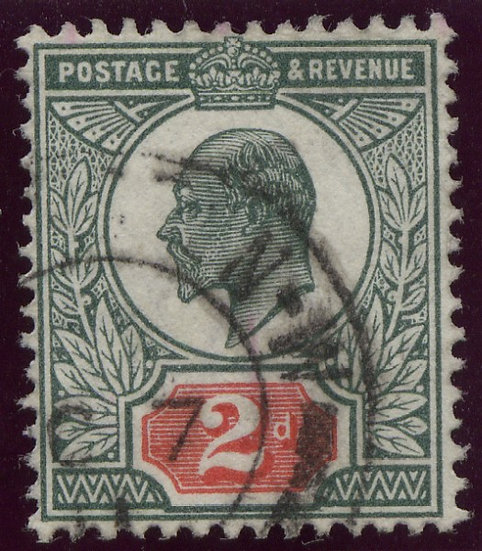 SG290 2d Deep Dull Green & Red Fine Used