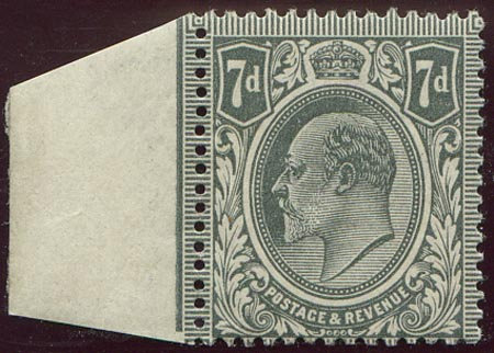 Spec M38/3 7d Pale Grey Unmounted Mint
