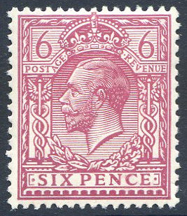 Spec N26/3 6d Reddish Purple Unmounted Mint