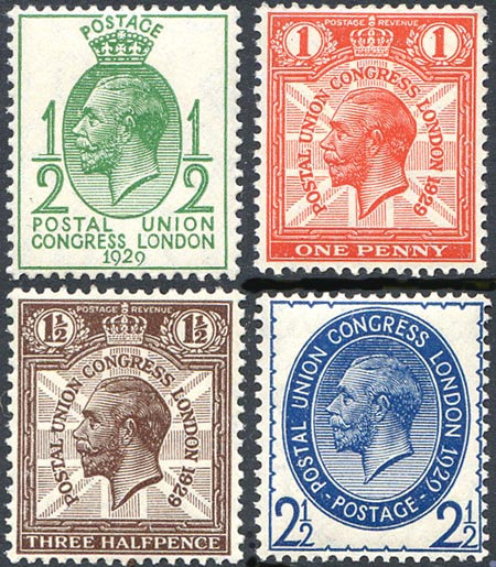 SG434/7 PUC Low Values Set Unmounted Mint