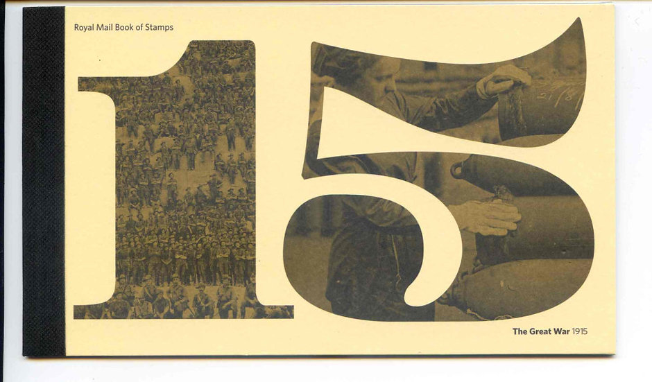 DY13 1915 Great War Prestige Booklet