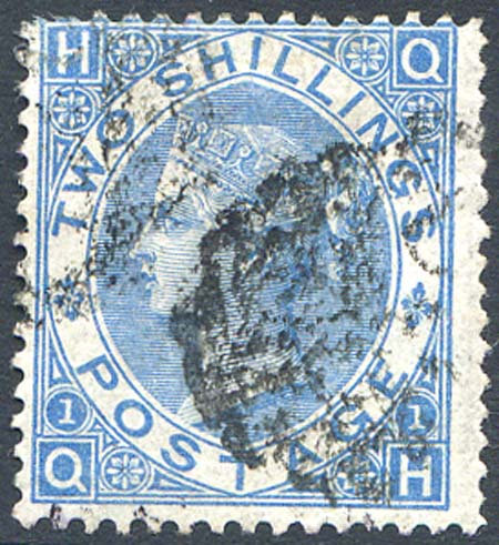 SG118 2/- Dull Blue Fine Used