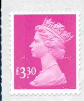 U2969 £3.30 Bright Magenta Unmounted Mint