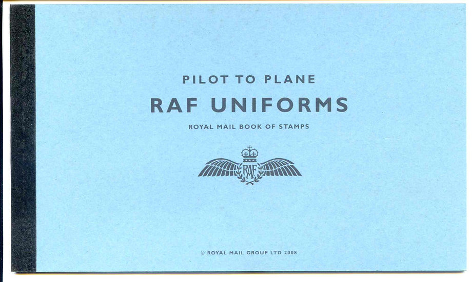 DX42 RAF Uniforms Prestige Booklet