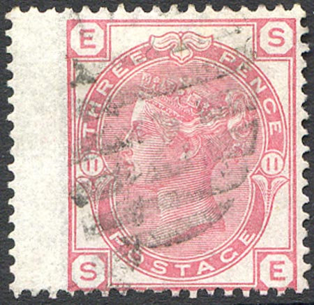 SG143 Plate 11 3d Rose Fine Used