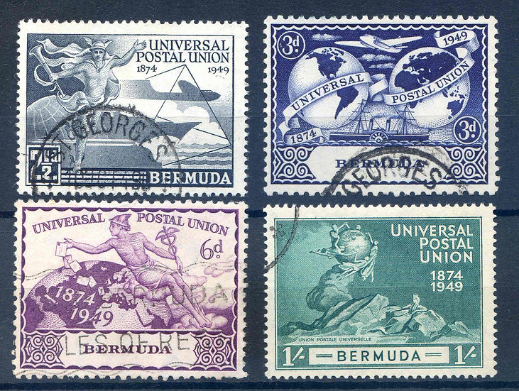 Bermuda 1919 UPU set SG130/3 Fine Used