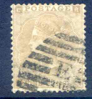 SG86 9d Bistre Fine Used