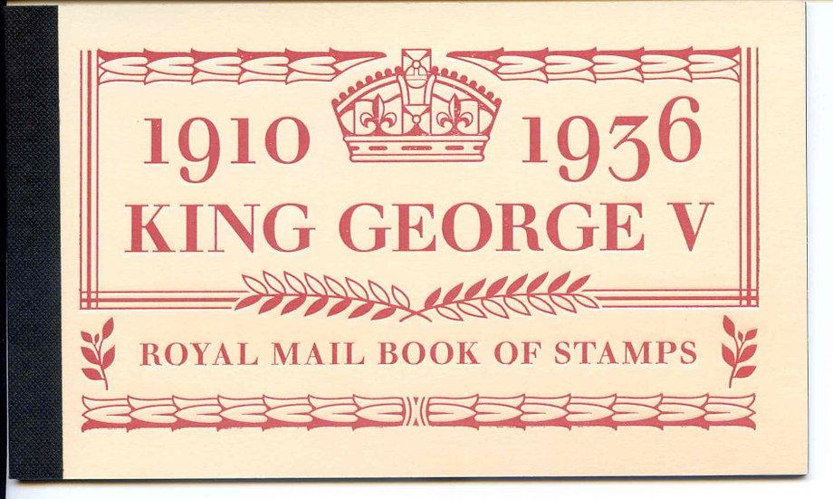 DX50 King George V Prestige Booklet