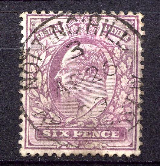 SG248 6d Dull Purple Fine Used CDS