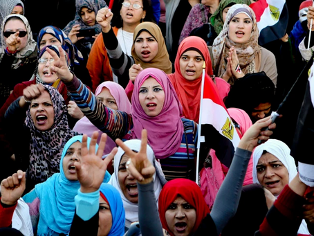 Interview on Twitter: Ana Hunna, a Women's Group in Egypt/Meet Women's Power in Films.