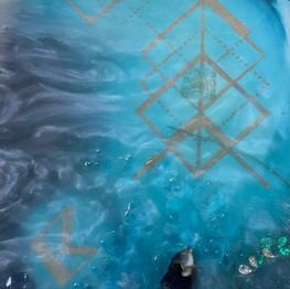 Detail 7 under water Nazca Lines