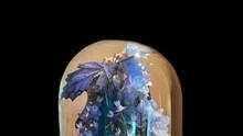 Blue Mayan Medicine Dome