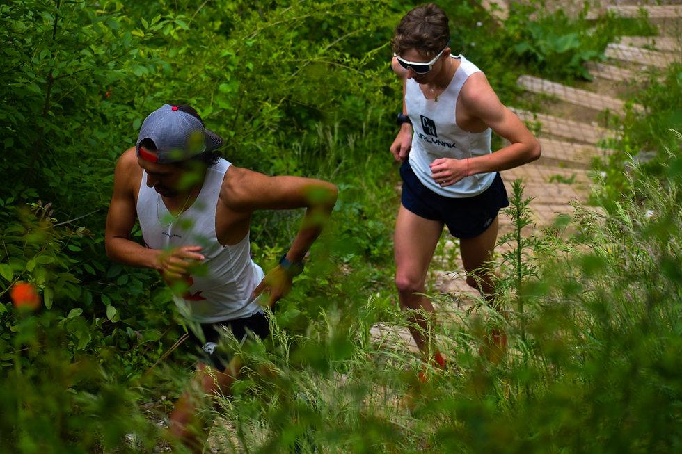 Débardeur trail running Curlynak made in