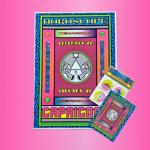 CAPRICORN- HOROSCOPE BUNDLE PACK