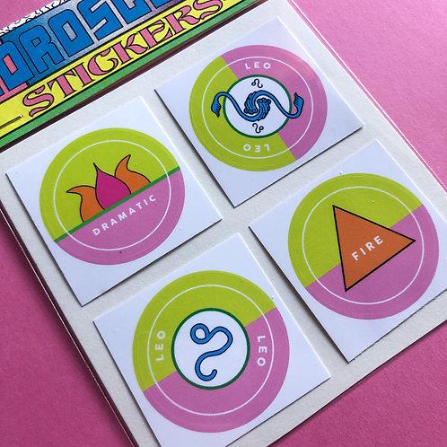 Leo - Horoscope Sticker Pack