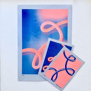 Cornelia Van Rijswijk_abstract art_artist & designer_ risograph print_risography_brisbane australia