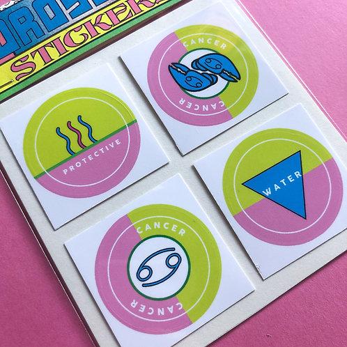 Cancer - Horoscope Sticker Pack