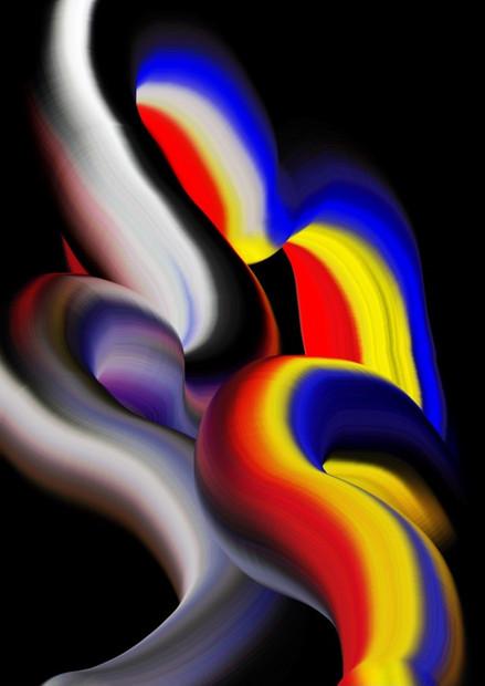 Primary Algorithm №3 by Cornelia Van Rijswijk