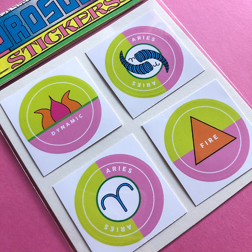Aries - Horoscope Sticker Pack
