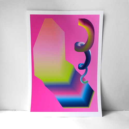 Hardware - A3 Fine Art Print