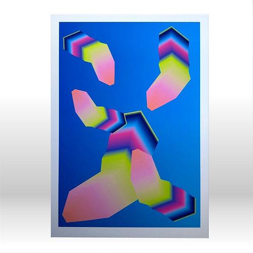 Chasm Lineage - A3 Fine Art Print