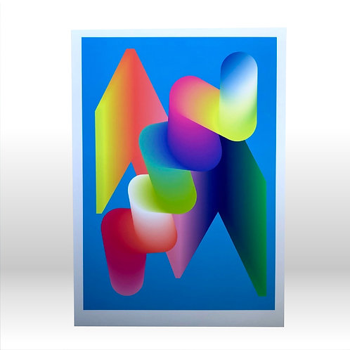 Actuator Over Component - A3 Fine Art Print