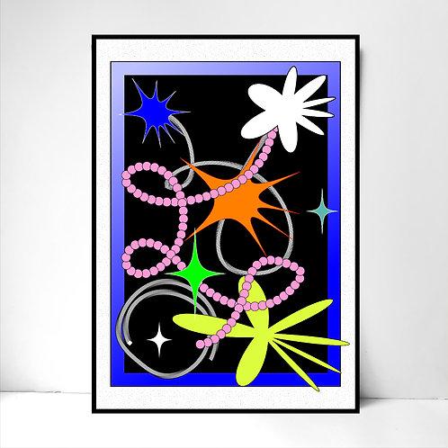 Send virtual flowers via email.- Fine Art Print