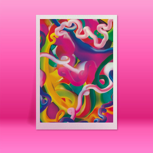 'Cyberia' A3 Giclée print