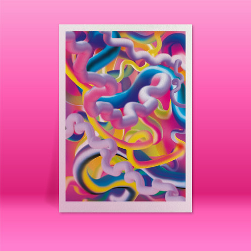 'Ventrilon Motherboard' A3 Giclée print