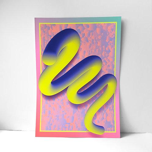 4EVA in my heart - Fine Art Print