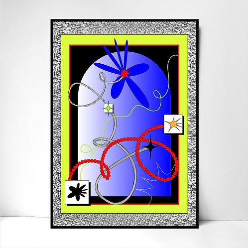 Iris the Virus- Fine Art Print