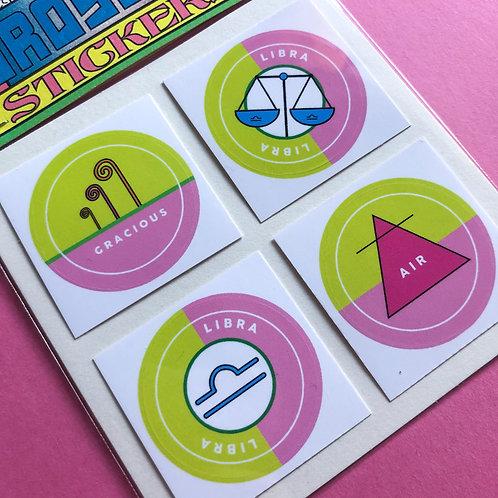 Libra - Horoscope Sticker Pack